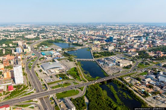 Chelyabinsk, Russia - the view from above, photo 3