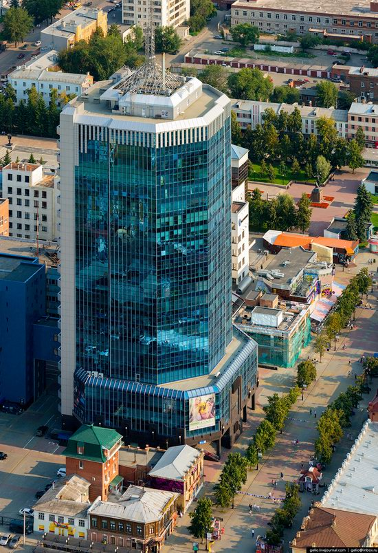 Chelyabinsk, Russia - the view from above, photo 8