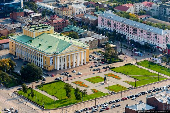 Chelyabinsk, Russia - the view from above, photo 9