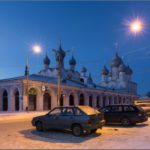 One frosty day in the Rostov Kremlin and its surroundings