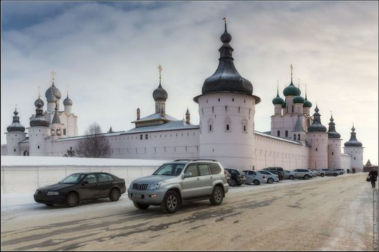 Frosty day in the Rostov Kremlin, Russia, photo 18