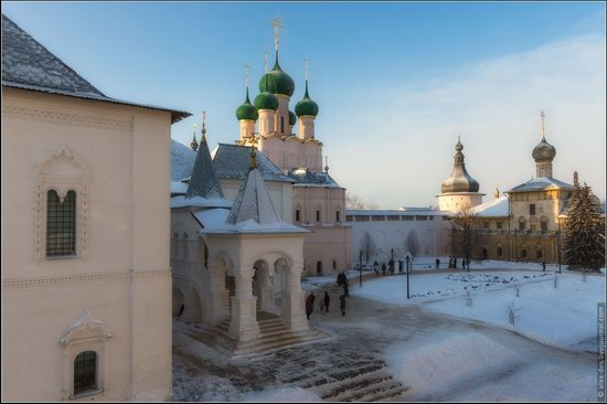 Frosty day in the Rostov Kremlin, Russia, photo 19