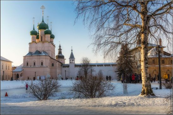 Frosty day in the Rostov Kremlin, Russia, photo 20