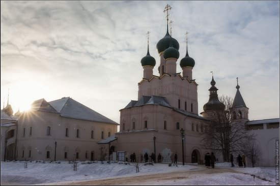 Frosty day in the Rostov Kremlin, Russia, photo 21