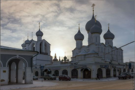 Frosty day in the Rostov Kremlin, Russia, photo 23