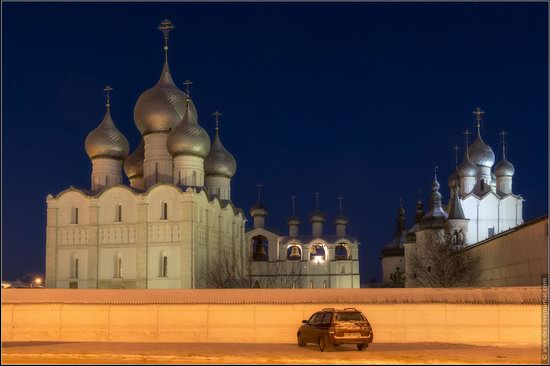 Frosty day in the Rostov Kremlin, Russia, photo 24