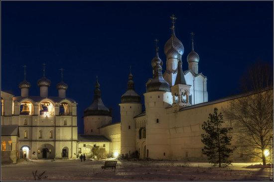Frosty day in the Rostov Kremlin, Russia, photo 25