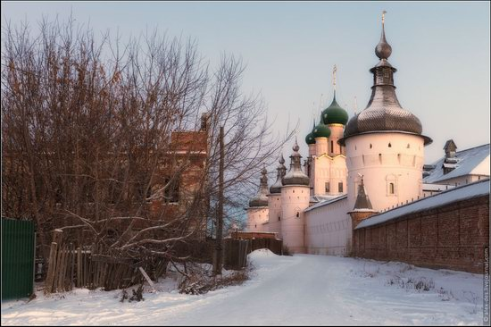 Frosty day in the Rostov Kremlin, Russia, photo 7