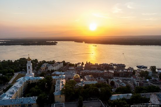 Samara, Russia - the view from above, photo 11