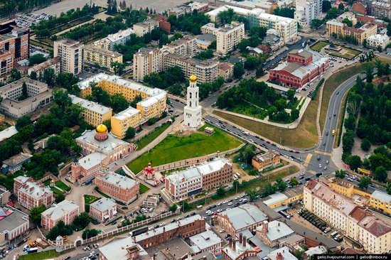 Samara, Russia - the view from above, photo 12