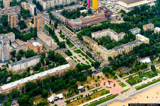 Samara, Russia - the view from above, photo 13