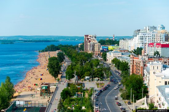 Samara, Russia - the view from above, photo 17