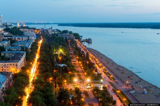 Samara, Russia - the view from above, photo 18
