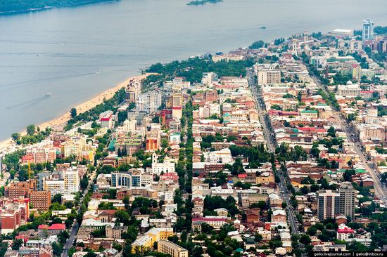 Samara, Russia - the view from above, photo 19