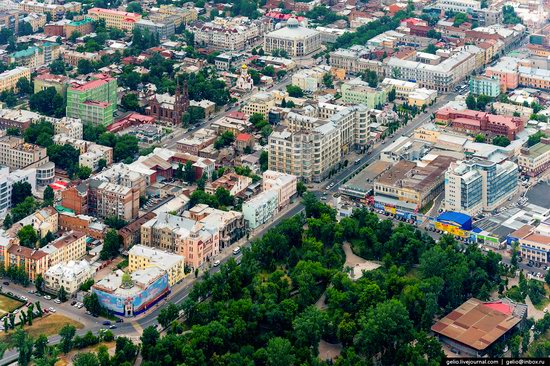 Samara, Russia - the view from above, photo 20