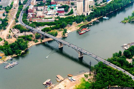 Samara, Russia - the view from above, photo 21