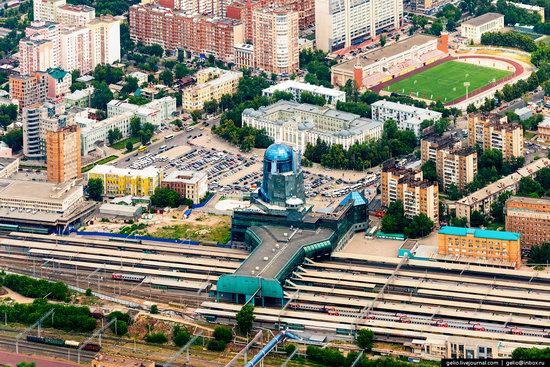 Samara, Russia - the view from above, photo 24