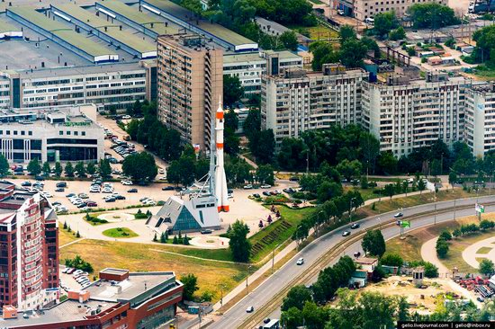 Samara, Russia - the view from above, photo 26