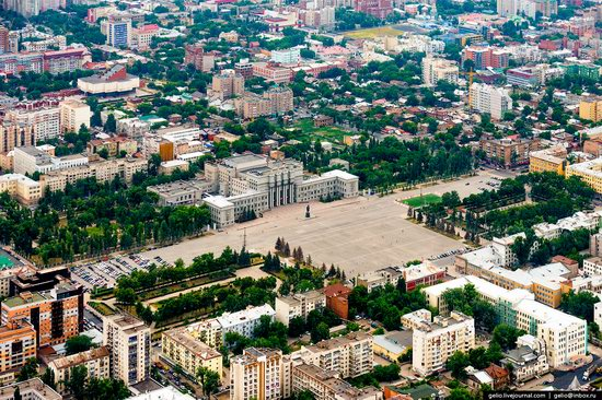 Samara, Russia - the view from above, photo 4