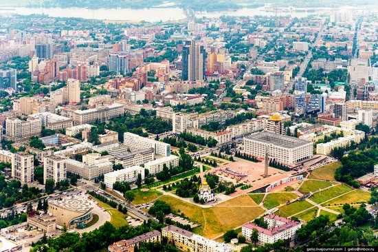 Samara, Russia - the view from above, photo 5