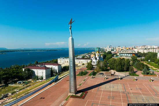 Samara, Russia - the view from above, photo 6