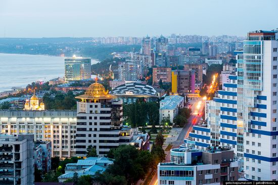 Samara, Russia - the view from above, photo 7