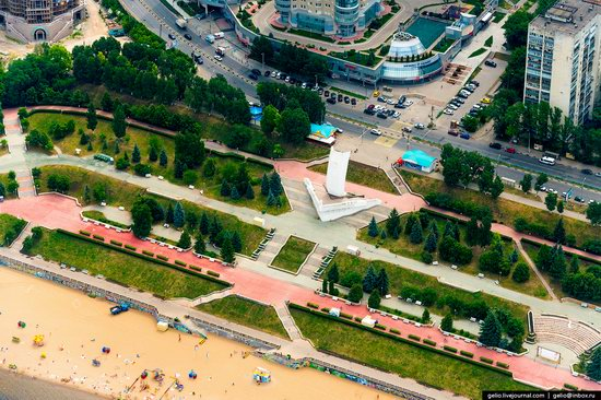 Samara, Russia - the view from above, photo 9