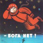 Soviet anti-religious propaganda posters
