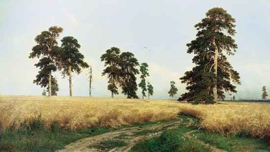 Photorealistic paintings of Ivan Shishkin, picture 1