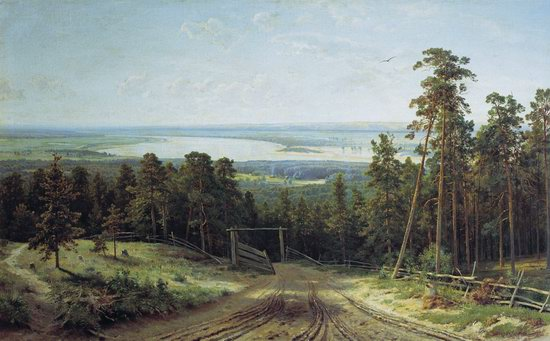 Photorealistic paintings of Ivan Shishkin, picture 10