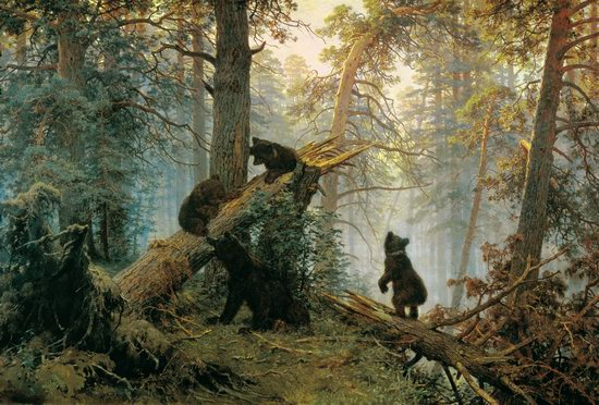 Photorealistic paintings of Ivan Shishkin, picture 11