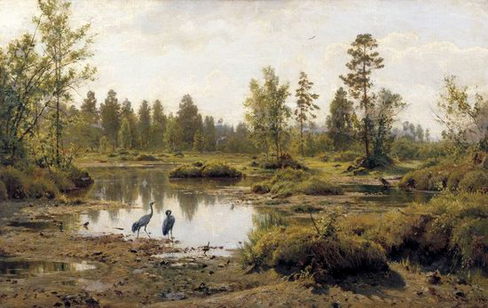 Photorealistic paintings of Ivan Shishkin, picture 2
