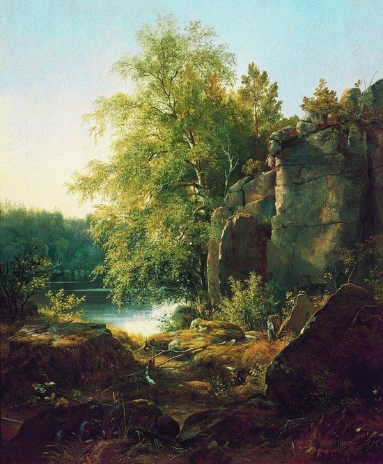 Photorealistic paintings of Ivan Shishkin, picture 3