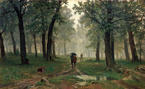 Photorealistic paintings of Ivan Shishkin, picture 4