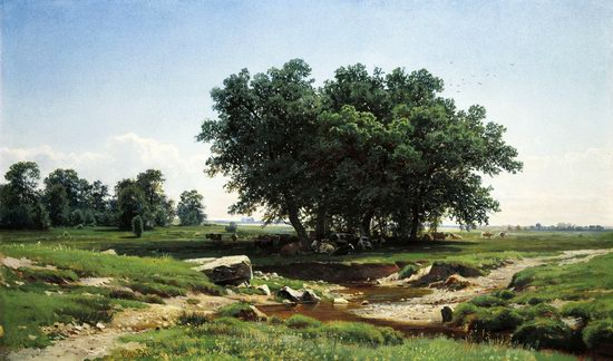 Photorealistic paintings of Ivan Shishkin, picture 6