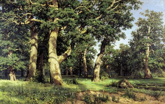 Photorealistic paintings of Ivan Shishkin, picture 7