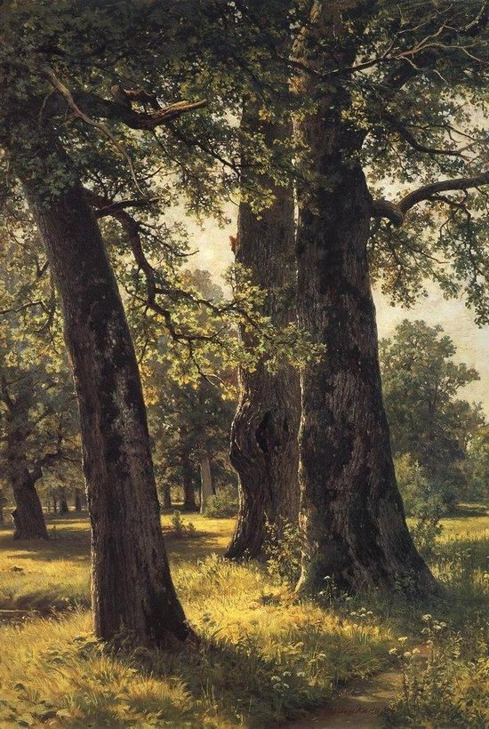 Photorealistic paintings of Ivan Shishkin, picture 8