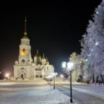 Winter in the Center of Vladimir