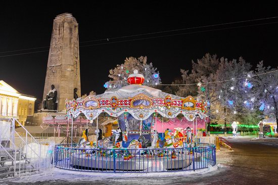 Winter in the center of Vladimir city, Russia, photo 10