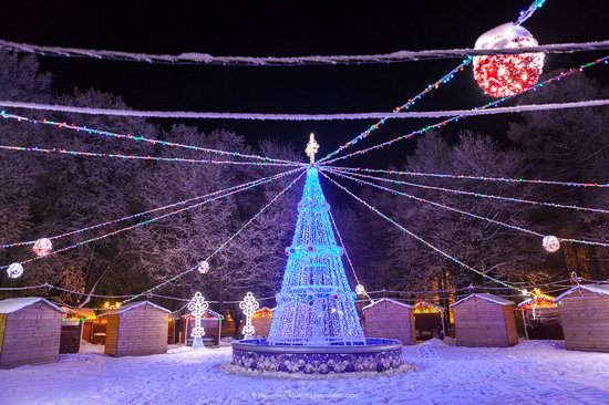 Winter in the center of Vladimir city, Russia, photo 16