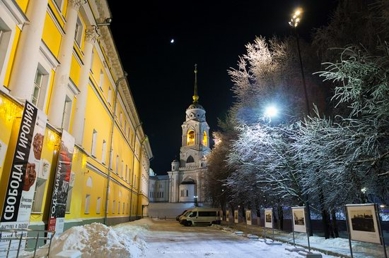 Winter in the center of Vladimir city, Russia, photo 17