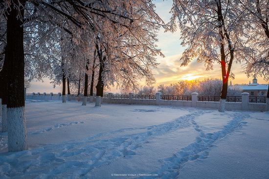 Winter in the center of Vladimir city, Russia, photo 5