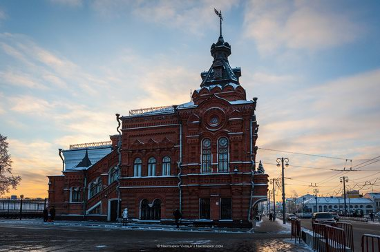 Winter in the center of Vladimir city, Russia, photo 6