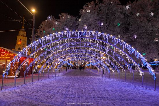 Winter in the center of Vladimir city, Russia, photo 9