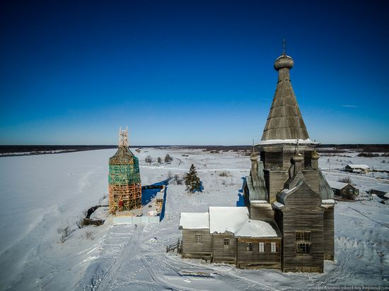 Wooden Ascension Church, Piyala, Arkhangelsk region, Russia, photo 1