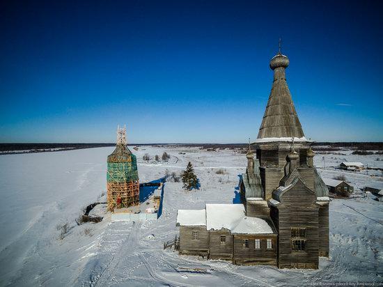 Wooden Ascension Church, Piyala, Arkhangelsk region, Russia, photo 1
