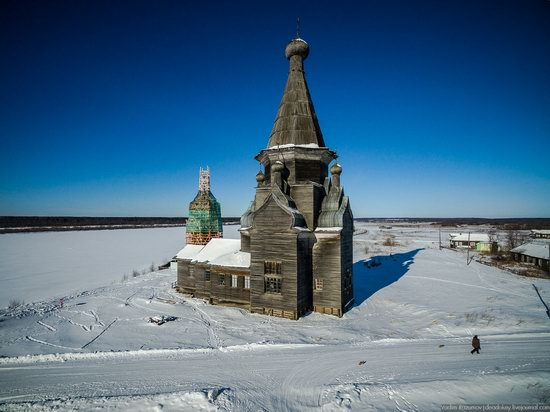 Wooden Ascension Church, Piyala, Arkhangelsk region, Russia, photo 10