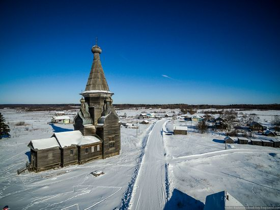 Wooden Ascension Church, Piyala, Arkhangelsk region, Russia, photo 5