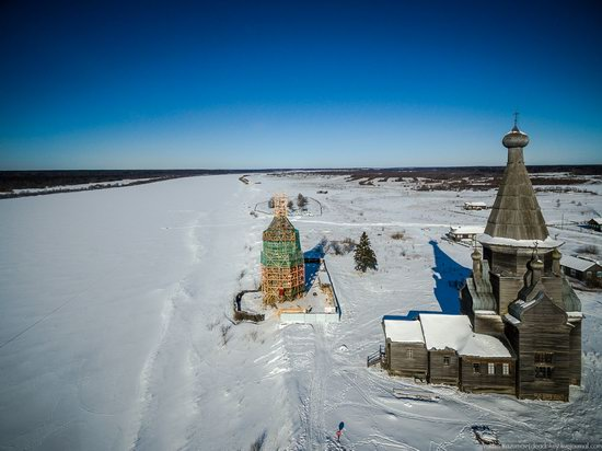 Wooden Ascension Church, Piyala, Arkhangelsk region, Russia, photo 6