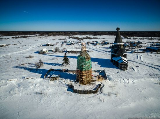 Wooden Ascension Church, Piyala, Arkhangelsk region, Russia, photo 7
